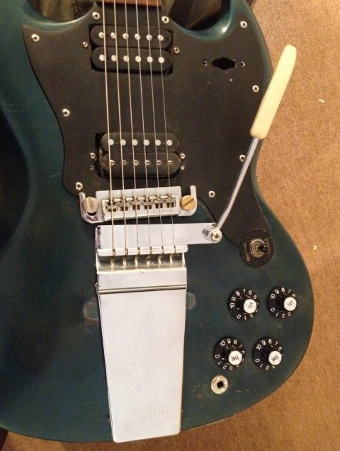1969 Gibson SG / Melody Maker Project - Making & Modding Discussions