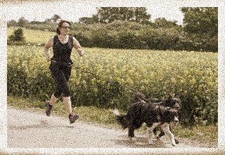Running With My Dog…